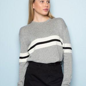 NWOT Brandy Melville Bernadette Sweater Grey